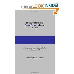 """@BU - Pappas Law Librarians publish """"The Law Student's Quick Guide to Legal Citation""""   Library Collaboration   Scoop.it"""