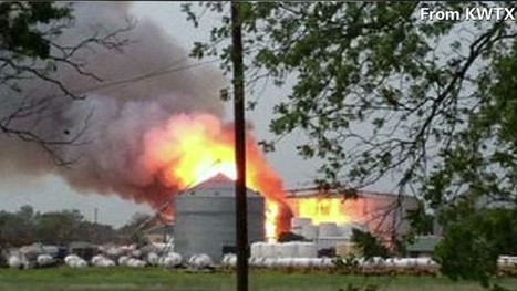 Explosion hits fertilizer plant north of Waco, Texas | Government and law current events 3c | Scoop.it