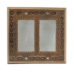 Decorative Double Rocker Copper Switch Plate Cover | Pottery and Furniture | Scoop.it