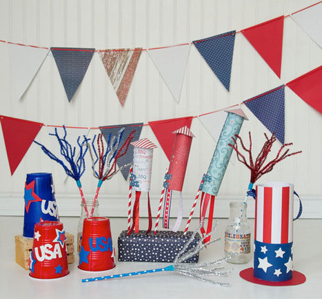 A Festive 4th of July Craft Party for Kids | News | Scoop.it