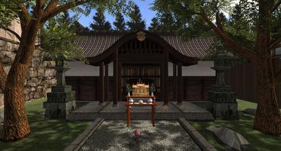 Amaterasu Omikami Grand Shinto Shrine - Little Yoshiwara, Ribush - Second life | Second Life Destinations | Scoop.it