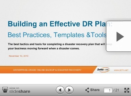 Best Practices for Building a Disaster Recovery Plan   Technology & more   Scoop.it