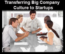 Transferring Big Company Culture to Startups Online Course | Business Futures | Scoop.it
