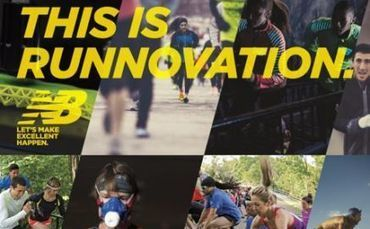 "Running as a social behavior: New Balance carves the new term ""runnovation"" | Consumer Insights | Scoop.it"