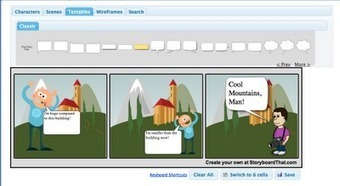 Free Technology for Teachers: Storyboard That - A Good Storyboarding Tool | Educatief Internet | Scoop.it