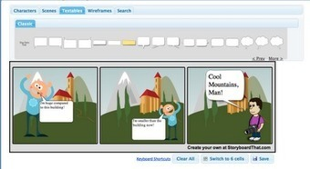 Free Technology for Teachers: Storyboard That - A Good Storyboarding Tool | Technology Enhance Learning UK | Scoop.it