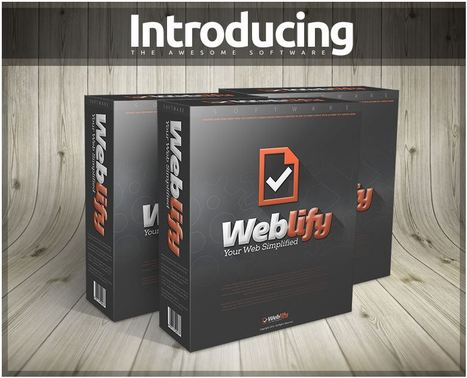 Weblify - Build fully optimized and monetized websites in 5 minutes. | Internet Marketing | Scoop.it