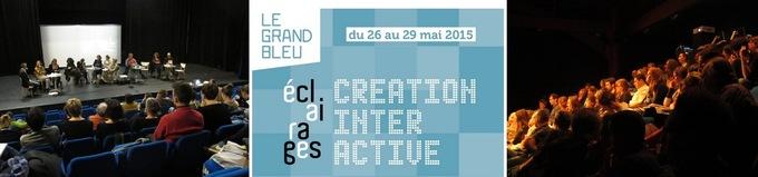 27.05.2015 - Débat : Pratiques numériques dans la création artistique pour la jeunesse - Le Grand Bleu
