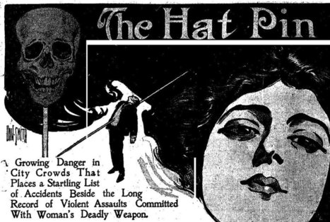 """""""The Hatpin Peril"""" Terrorized Men Who Couldn't Handle the 20th-Century 