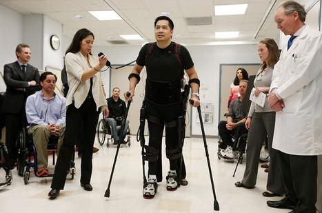 Bionic legs? Science fiction no more | Gentlemachines | Scoop.it