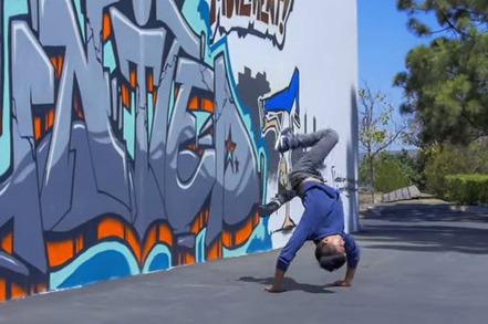 Breaking Gravity: Matrix Meets Street Mojo