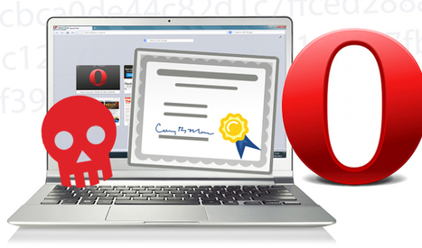 Opera Code-Signing Certificate Stolen, Malware Signed - Threatpost | Digital Signature Certificate | Scoop.it