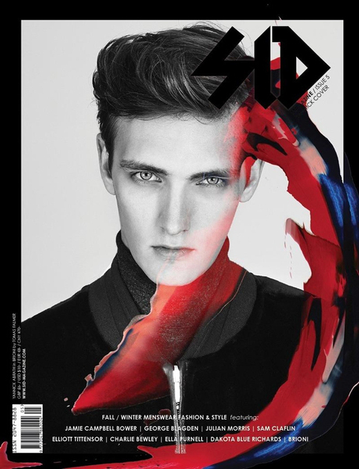 Sid Magazine Fall/Winter 2013 Covers by Tomas Falmer