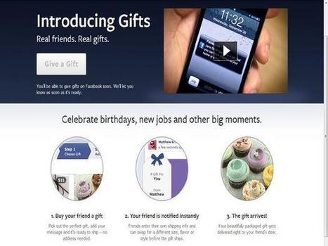 Facebook incorpora iTunes em seu serviço de presentes | Tecnologia e Comunicação | Scoop.it