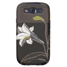 Cool Tattoo Oriental and Japanese Fine Art - Customizable Gifts and Home Decoration from Zazzle: SOLD! - Mabuchi Toru Lilies ukiyo-e vintage fine art Galaxy SIII Case | Art News | Scoop.it