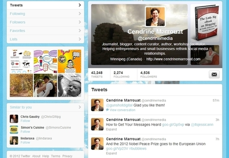 New Twitter profiles available to everyone starting tomorrow! | Business in a Social Media World | Scoop.it