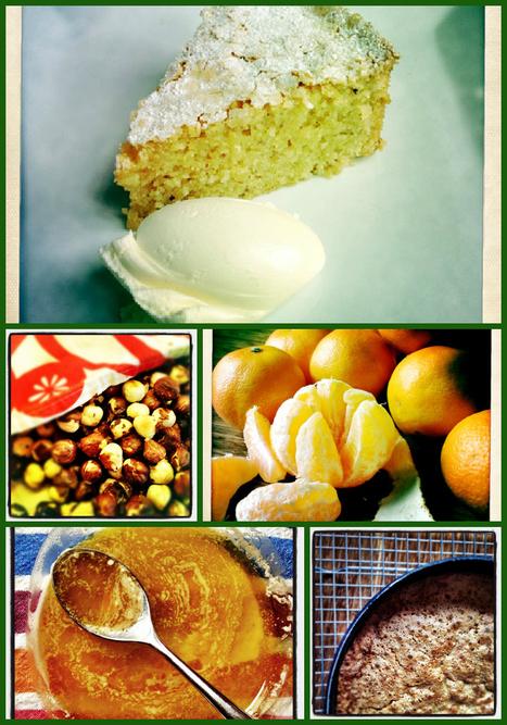Hazelnut mandarin polenta cake | Hideaway Le Marche | Scoop.it