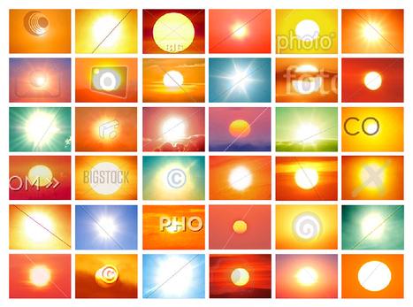 Penelope Umbrico - Copyrighted Suns | Fotografías, Usos Sociales y Cultura remix | Scoop.it