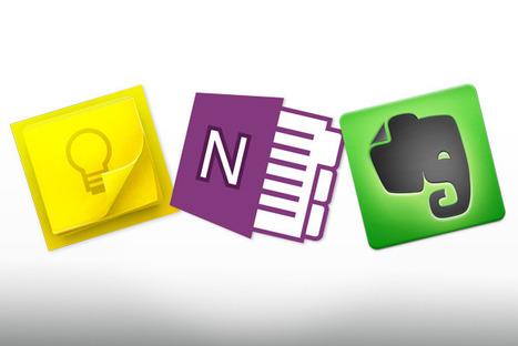 Google Keep vs. OneNote vs. Evernote: We name the note-app winner | PCWorld | Microsoft Office | Scoop.it
