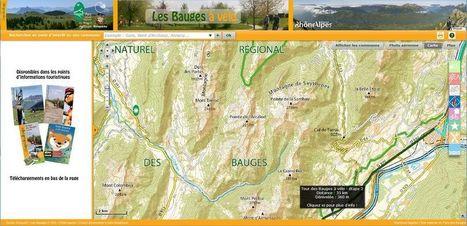 PNR du Massif des Bauges - Une application cartographique pour le vélo | Zoom Actu' | Scoop.it