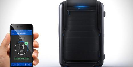 Bluesmart, la valise connectée pour un voyage léger - Le Paradis du Web | Les dernières innovations digitales | Scoop.it