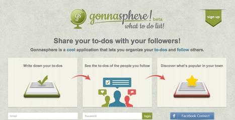Gonnasphere - an app for organisation | SchooL-i-Tecs 101 | Scoop.it