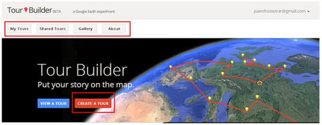 Geoinformación: Crea tus historias , noticias o trabajos turisticos con Tour Builder de Google Earth | #GoogleEarth | Scoop.it