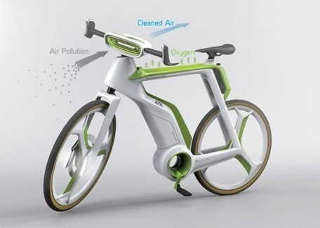 Photosynthesis Bike Purifies the Air as You Ride | Archivance - Miscellanées | Scoop.it