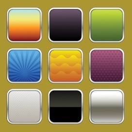 9 Apps Icon Texture eps 1 « Vector | Icon | Wallpaper | Vector Icon Wallpaper | Scoop.it
