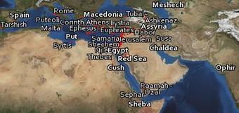 Bible Geocoding - Bible Maps in Google Earth   Geography Education   Scoop.it