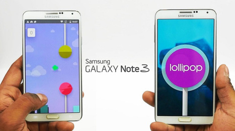 Tips To Install Android 5.0 Lollipop On Samsung Galaxy Note 3 | Mobile Phone News, Reviews & Offers | Scoop.it