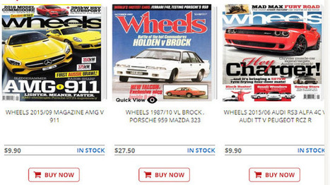 Automotive magazines for crazy collectors | Motor Book World | Motor Book World | Scoop.it
