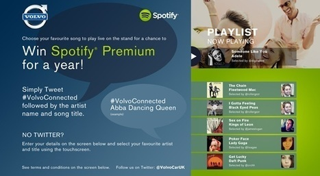 Volvo to feature Twitter Jukebox to promote in-car Spotify partnership | Raspberry Pi | Scoop.it