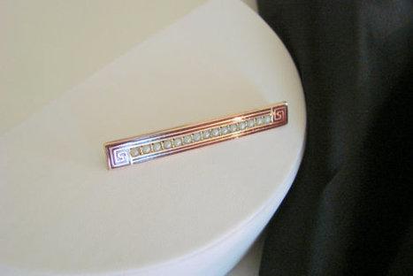 Victorian 10K Rose Gold Seed Pearl Bar Brooch / Greek by JoysShop | Jewelry | Scoop.it
