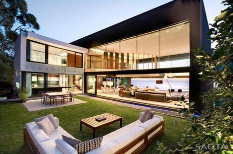 Splendide maison contemporaine ouverte sur la mer par Saota Architects - Cape Town - Afrique du Sud   Construire Tendance   Scoop.it