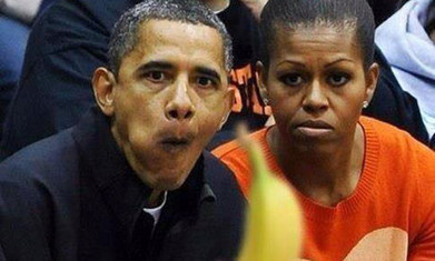 Russian Olympian posts controversial photo  of Obama&MObama w/banana | Littlebytesnews Current Events | Scoop.it