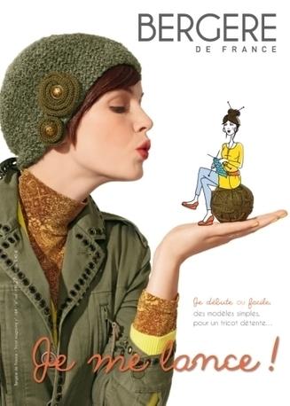 Je me lance, le magazine Bergère de France destiné aux tricoteuses débutantes   So What? Votre magazine féminin en ligne   Tricothé - les actus du tricot   Scoop.it
