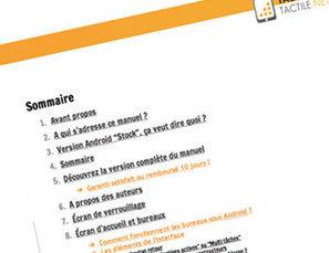 Notice pour tablette tactile Android - Guide gratuit pour débutant ! | Soutien didactique en IME, SIFPRO. | Scoop.it