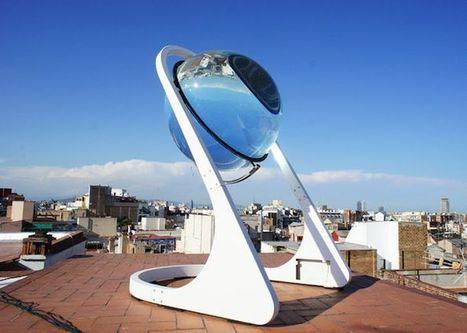 Esferas solares que generan energía incluso con la luna / EcoInventos.com | Creatividad en la Escuela | Scoop.it