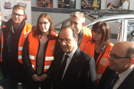 Pour François Hollande, les engagements d'ArcelorMittal à Florange sont respectés | Forge - Fonderie | Scoop.it