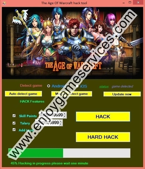 The Age Of Warcraft hack tool | game | Scoop.it