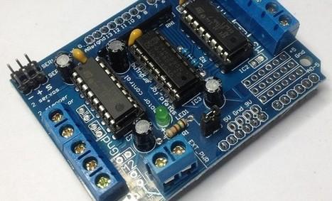Motor paso a paso y Motor Shield V1   tecno4   Scoop.it