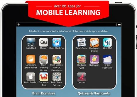 Best iOS Apps for Mobile Learning » Online Universities | Austrailian Animals | Scoop.it
