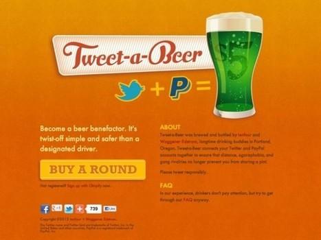 Payez une bière à vos amis Twitter avec Tweet-a-beer   694028   Scoop.it