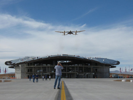 Spaceport's Construction Heralds Era of Commercial Space Travel   Space matters   Scoop.it