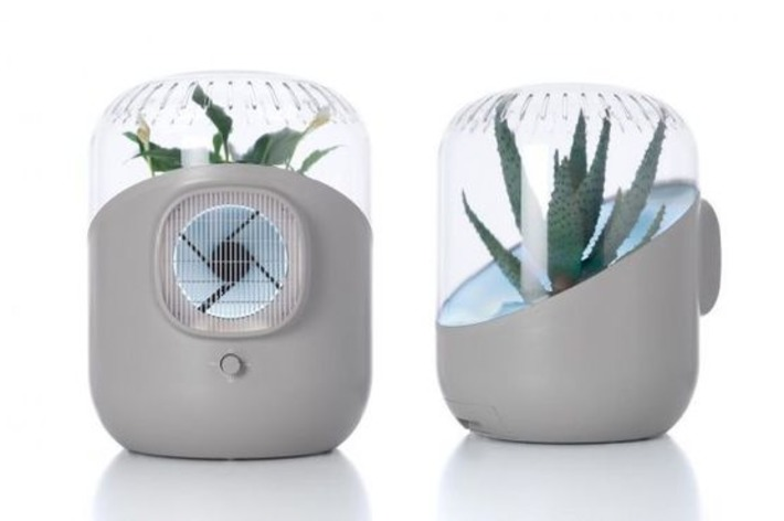 Andrea Air Purifier uses plant to filter your room's air | Home Harmonizing | Nerdy Needs | Scoop.it