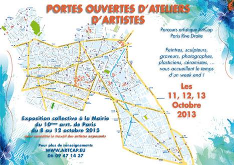 Portes ouvertes des ateliers d'artistes Paris - Rive Droite   Paris Est Villages   CaféAnimé   Scoop.it