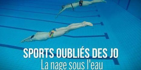Sports oubliés des JO #2: revivez l'épreuve de la nage sous l'eau | Apnée | Scoop.it