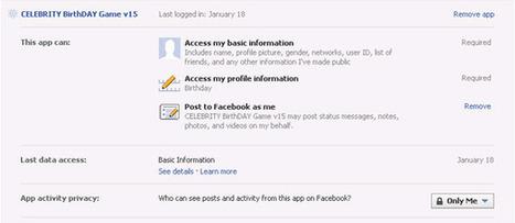 Why you should NOT install 'Fun & Entertaining' Facebook Applications | Security and Privacy | Scoop.it