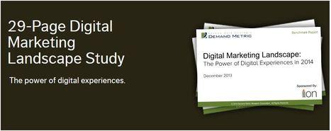 [FREE] The Digital Marketing Landscape Study - Ion Interactive | #TheMarketingTechAlert | Marketing Apps | Scoop.it